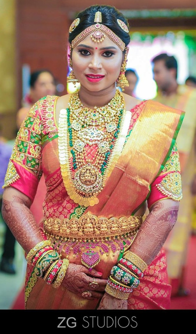 South Indian Actress Wallpapers In Hd Samantha Ruth: South Indian Bride In Kundan Wedding Jewellery