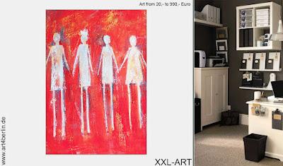 Hochwertige Acrylmalerei und große Leinwandbilder!