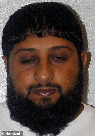 Jailed Al-Qaeda chief who 'had links to 7/7 London bombers' gets £800,000 in legal aid'