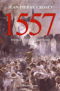 couverture du roman 1557