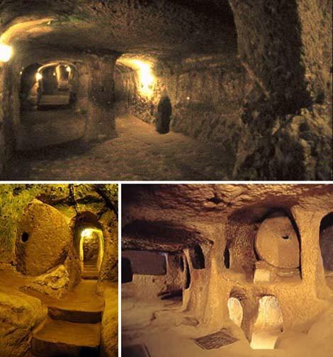 Red de túneles subterráneos que atraviesan muchos países de Europa, y aún falta explorar más de ellos.