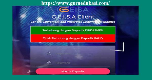 Download dan Cara Instal Serta Pasang Geisa Client DHGTK Fingerprint 2019