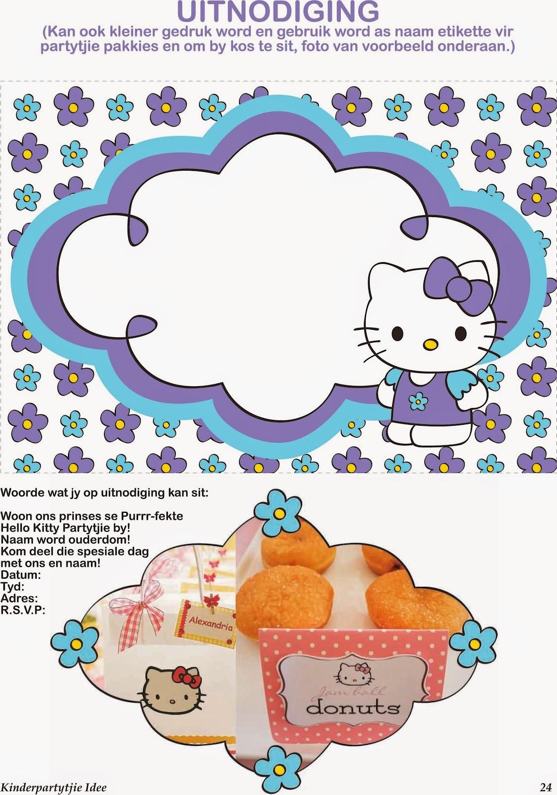 Mini Kit De Hello Kitty Para Imprimir Gratis Ideas Y