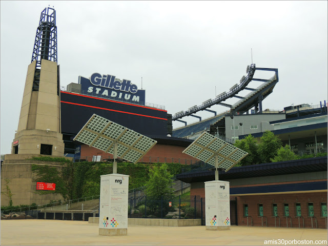 Gillette Stadium en Foxborough, Massachusetts