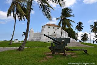 historia de salvador, Forte de Monte Serrat
