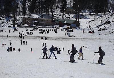 Estação de esqui de Manali - Índia