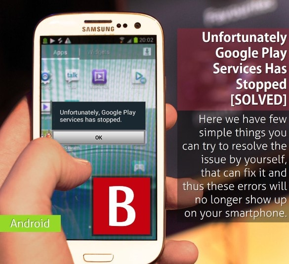 google play has stopped unexpectedly