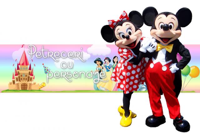 petreceri cu personaje Disney