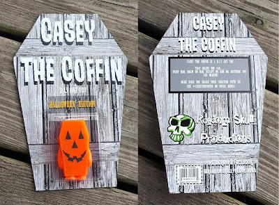 Casey the Coffin Halloween Edition Resin Figure by Random Skull Productions
