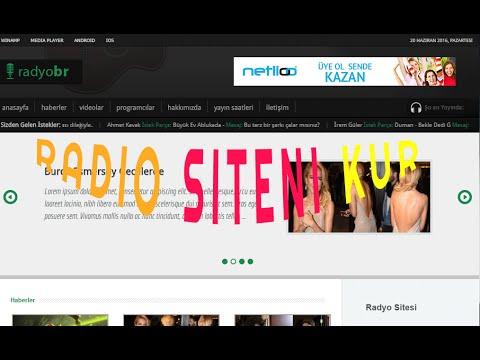 radio sitesi kurulumu