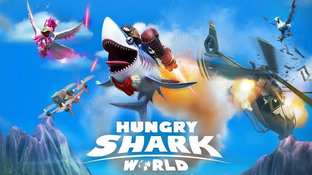 تحميل لعبة Hungry Shark World v2.9.0 مهكرة للاندرويد (اخر اصدار)
