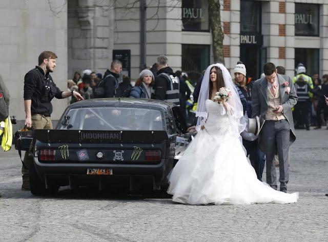Matt LeBlanc interrumpe por accidente una boda mientras graba el nuevo Top Gear