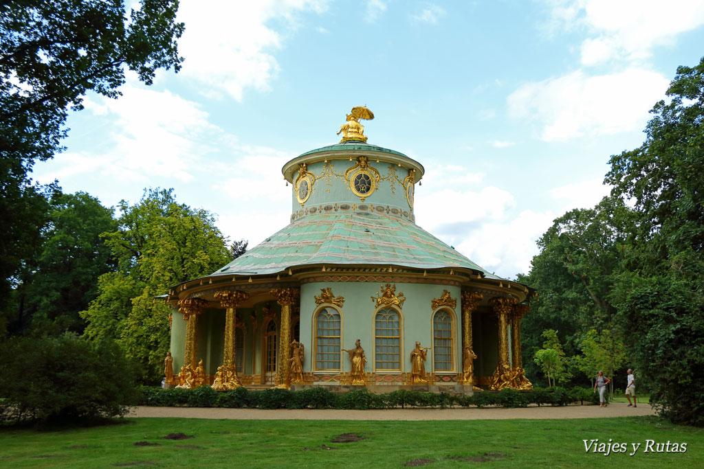 Casa China, Jardines Sanssouci, Postdam