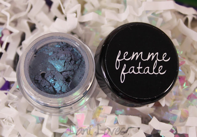 Femme Fatale Spotting Sattelites Eyeshadow Swatches & Review