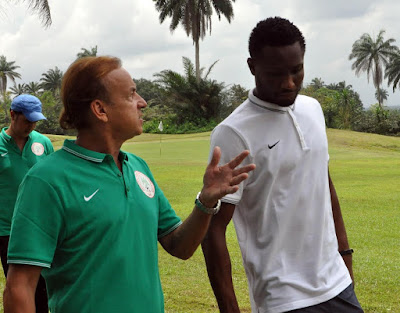 'Mikel Obi is being punished at Chelsea because he played at Olympics'- Coach Gernot Rohr blasts Chelsea coach