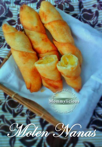Resep Membuat Molen : resep, membuat, molen, Molen, Nanas