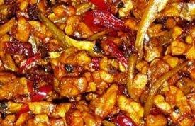 Resep Kering Tempe Teri Kacang