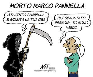 marco pannella, giacinto, satira, vignetta