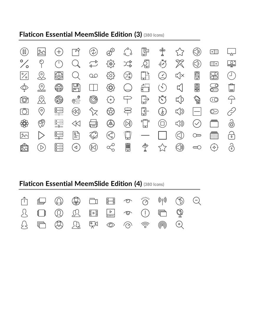 خطوط لتصميم عرض بوربوينت