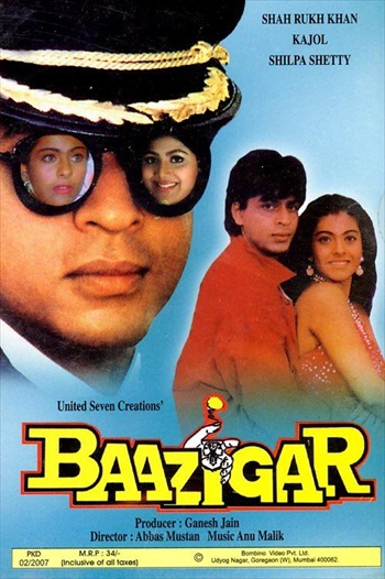 Baazigar 1993 Hindi Movie Download