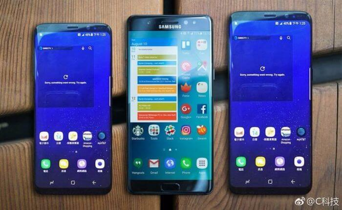 Caution: fake Samsung Galaxy S8 has already appeared in sale