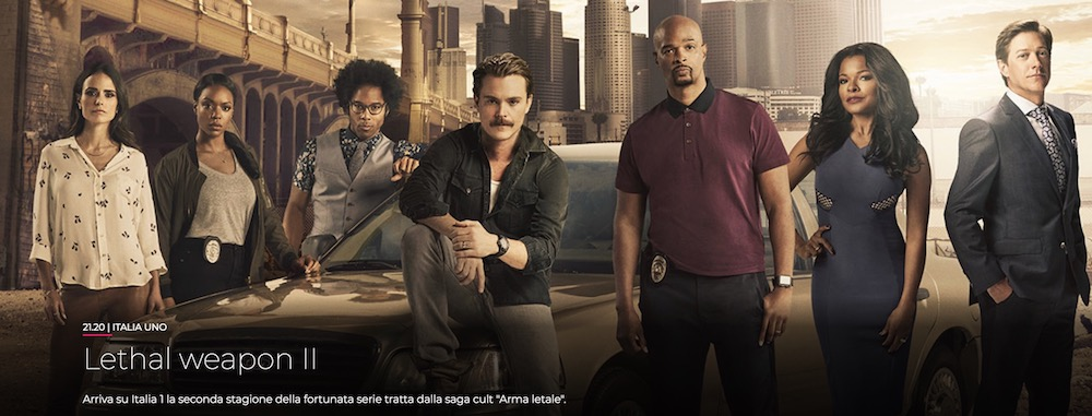 lethal weapon 2018 serie tv italia 1, musica spot