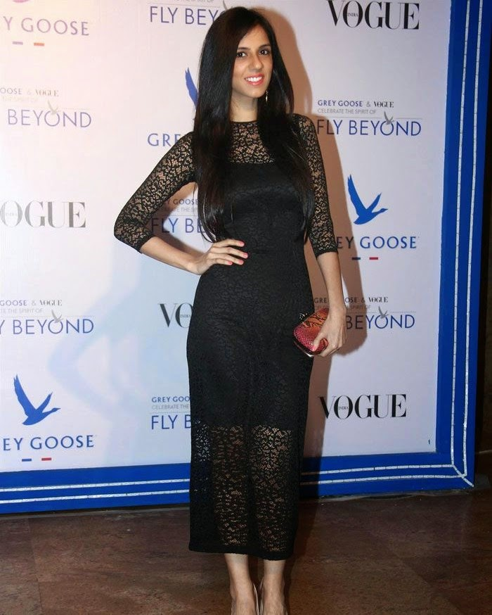Nishka Lulla, Pics from Red Carpet of Grey Goose & Vogue's Fly Beyond Awards 2014
