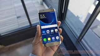 Bagian Depan Samsung Galaxy S7 Edge