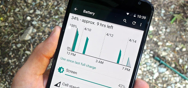 conserve Android battery