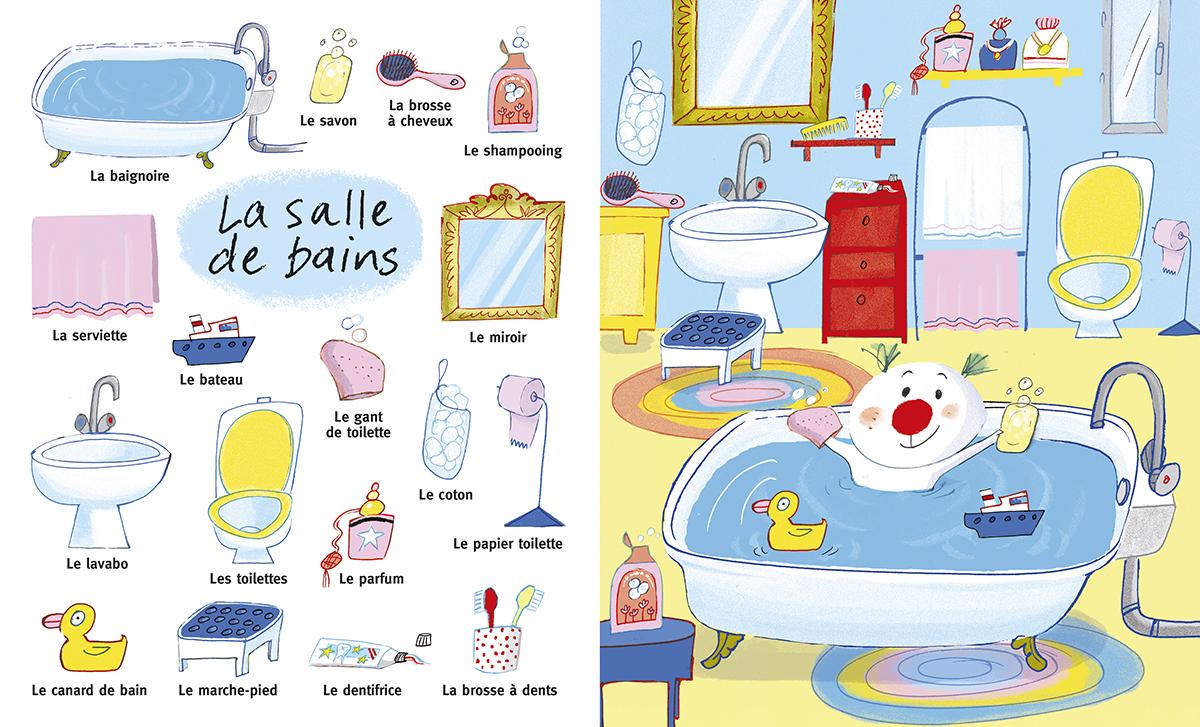 Favori La Salle De Bain Vocabulaire – Palzon.com SU57
