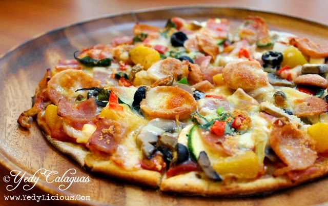 Mad For Pizza PH Create Your Own Pizza with Toppings All You Want at Il Terrazzo Tomas Morato Quezon City, DIY Pizza, Mad For Pizza Menu, Address, Contact Number, Best Pizza Place in Manila