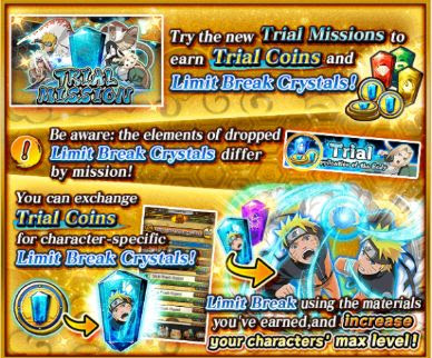 Naruto Blazing Trial Missions