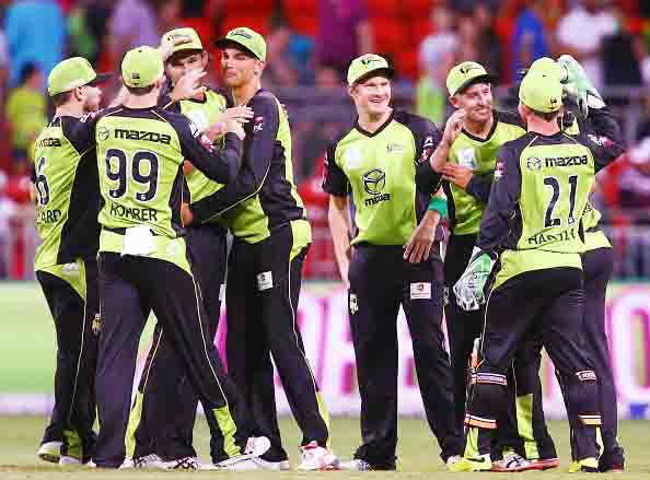 Sydney in third game this year's Big Bash