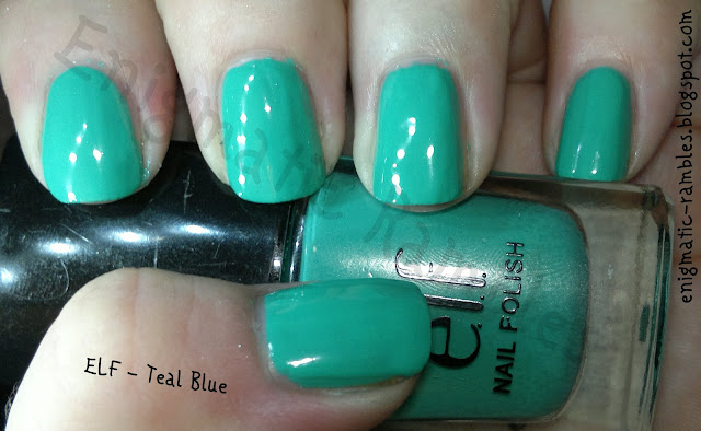 ELF-eyes-lips-face-nail-polish-set-beautifully-bright-teal-blue-swatch
