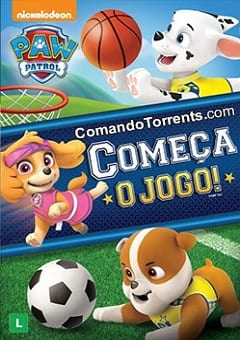 Patrulha Canina - Começa o Jogo Torrent torrent download capa