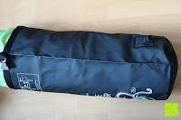 voll Seite: Dry Bag »Krake« Wasserdichte Trockentasche / Seesack / Survival Bag / Trockensack / Ideal für Kajak, Kanu, Segeln, Angeln, Schwimmen, Strand, Snowboarden, Skifahren, Bootfahren, Camping / Schützt Deine Wertsachen und Kleidung vor Staub, Nässe, Sand und Schmutz / 5L gelb