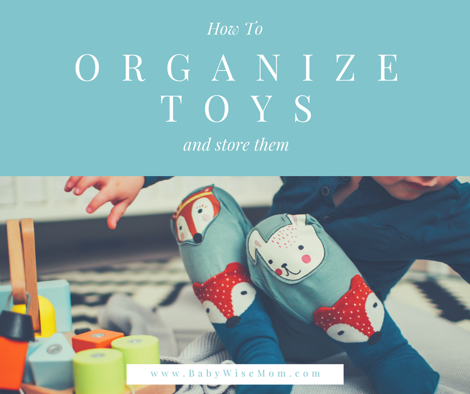 Click to read this article--how to organize toys.