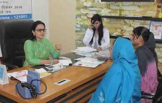 डॉ सरिता से मिलकर संतान उत्पति ना होने से मायूस लोगों में नज़र आई आशा की किरण