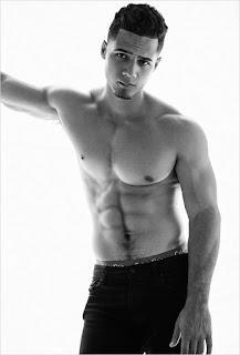 Sexy model Jordan Torres does new sexy shirtless photo shoot.  See photo spread at JasonSantoro.com