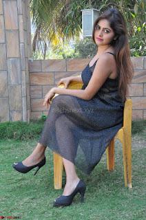 Pragya Nayan New Fresh Telugu Actress Stunning Transparent Black Deep neck Dress ~  Exclusive Galleries 043.jpg