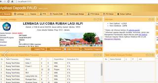 Aplikasi Dapodik PAUD DIKMAS 3.00 Terbaru 2016