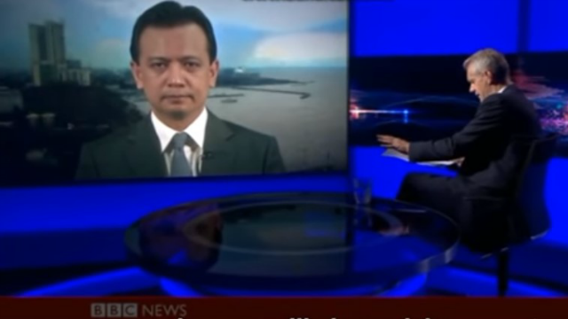 BBC journalist to Trillanes: Your coup attempt in 2003 which lasted for just a day