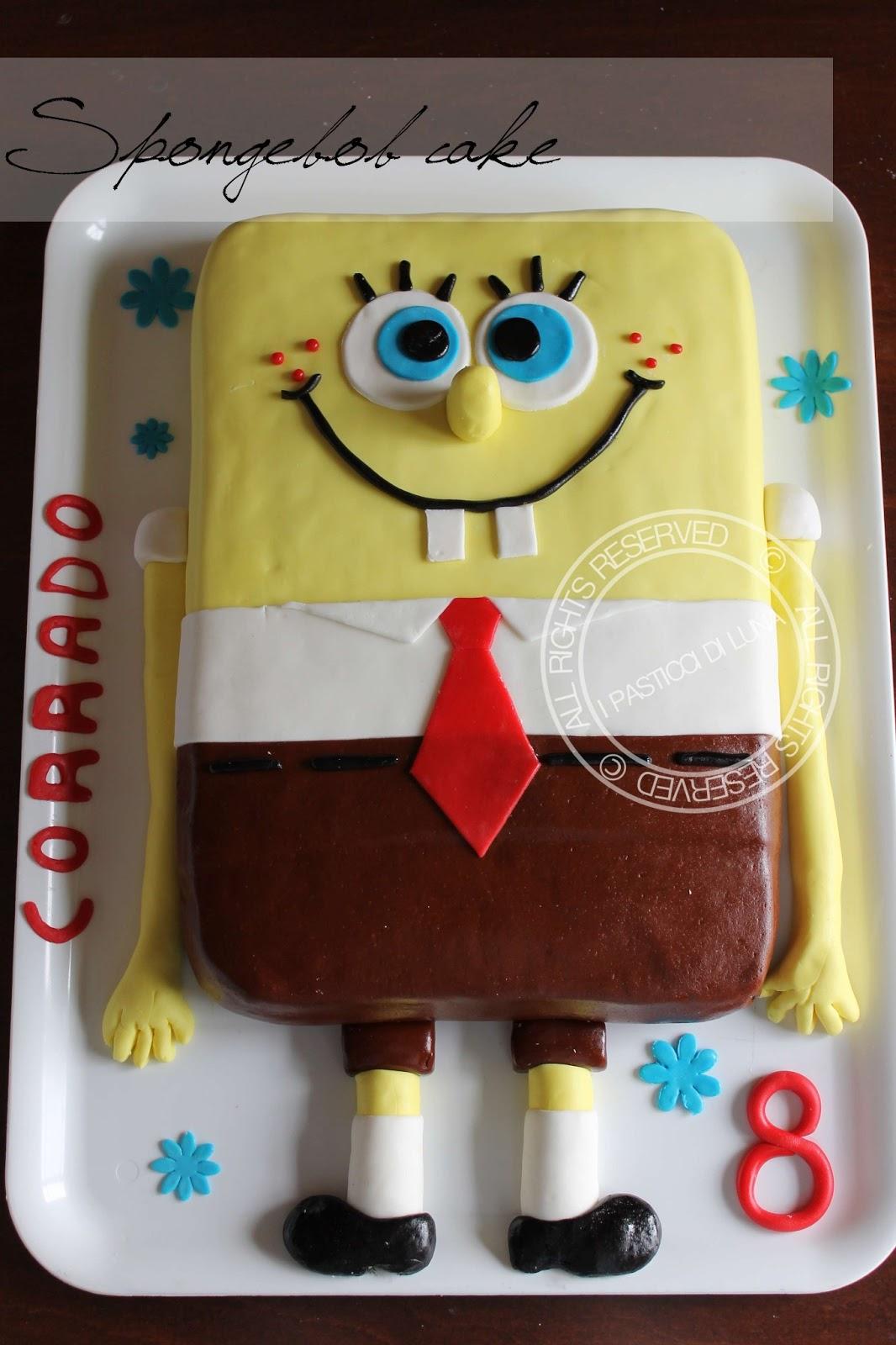 Conosciuto I Pasticci di Luna: Spongebob cake | La torta per compleanno - di  XX31