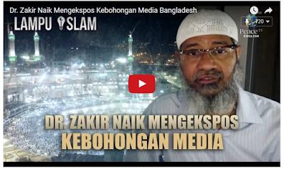 dr zakir naik membantah tuduhan palsu media