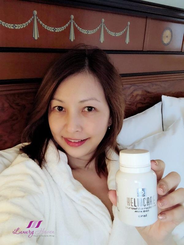 singapore beauty influencer reviews heliocare purewhite radiance max