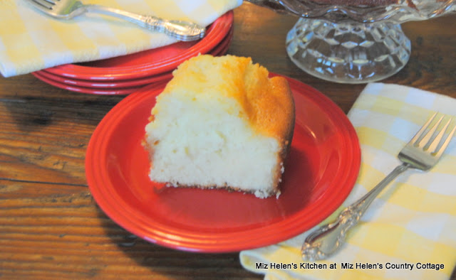 Southern Lemon Buttermilk Cake with Berry Glaze at Miz Helen's Country Cottage