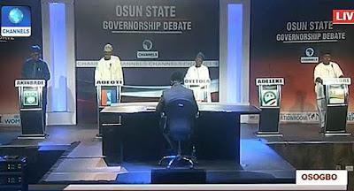 Osun guber debate: Candidates makes promises
