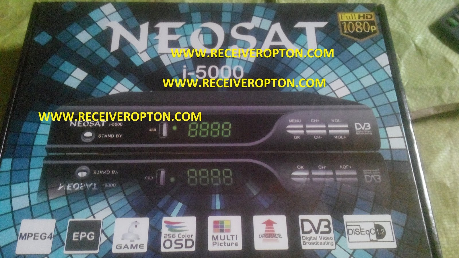 NEOSAT I-5000 HD RECEIVER POWERVU KEY SOFTWARE - HOW TO