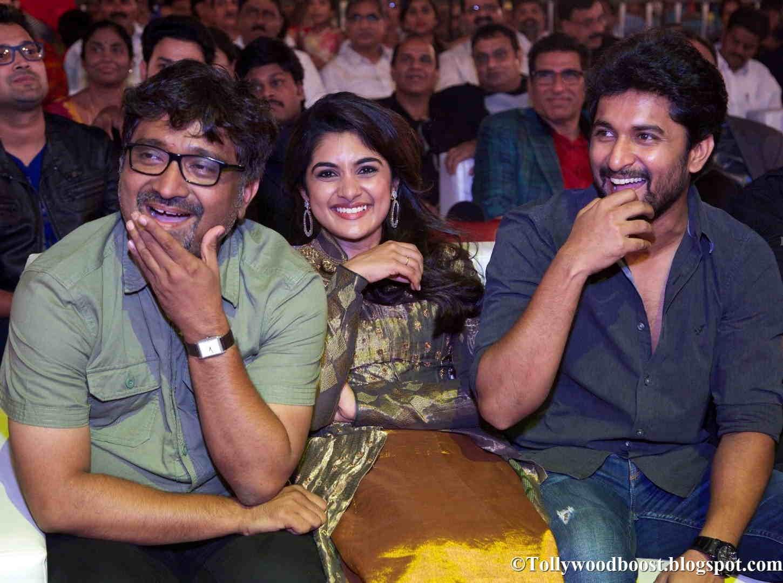 Malayalam Actress Niveda Thomas At TSR TV9 National Film Awards