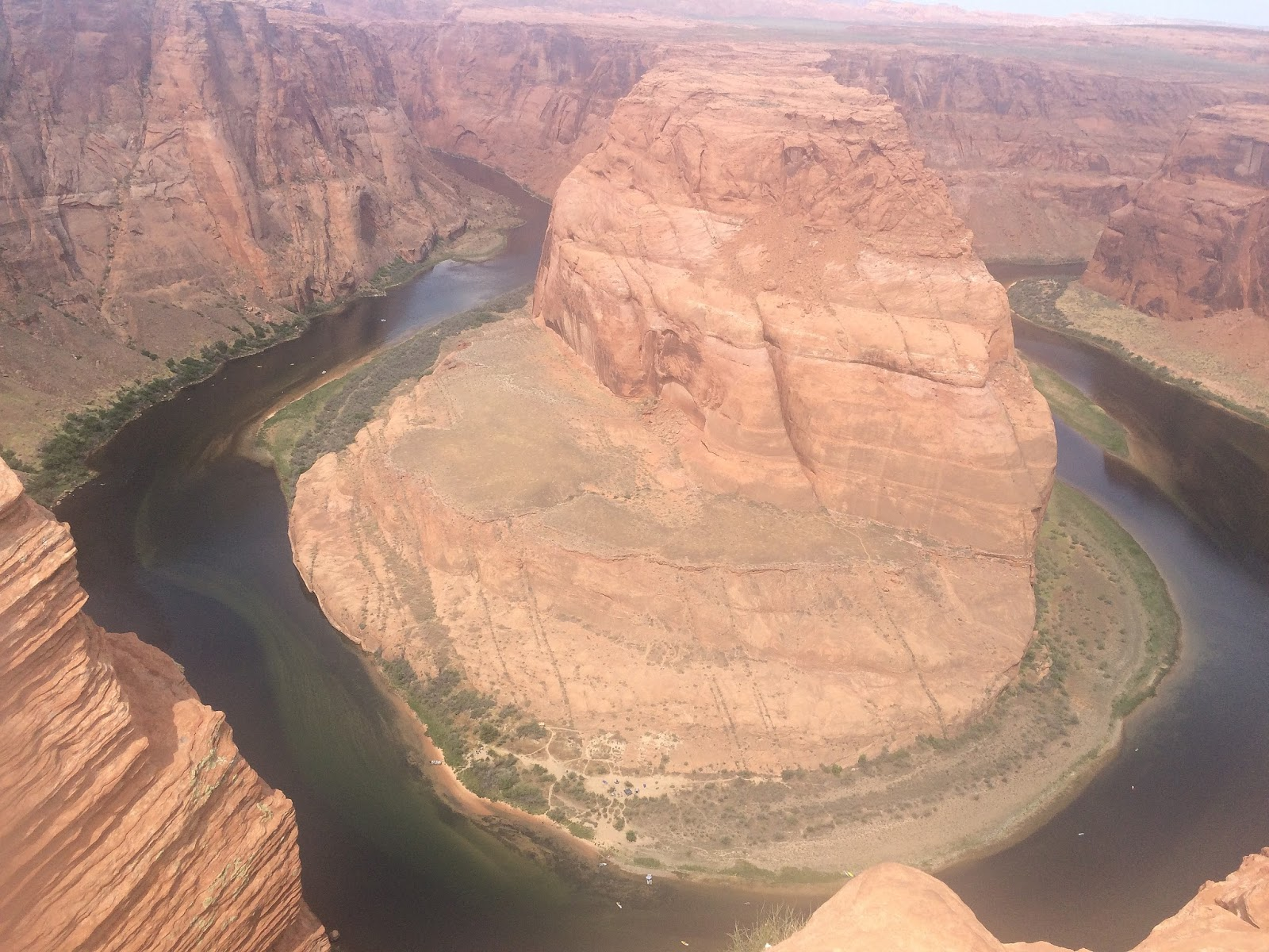 The Horseshoe Bend in Page